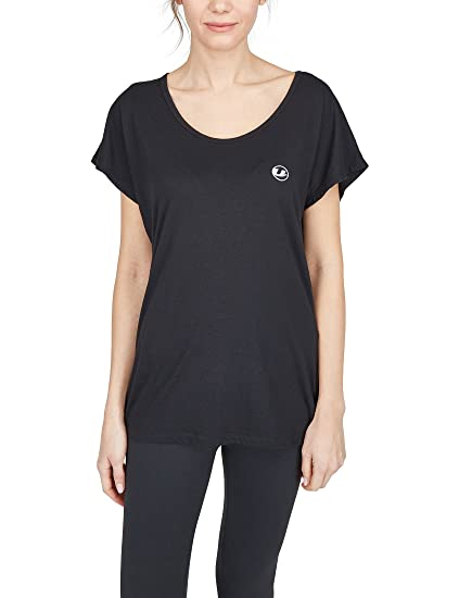 Ultrasport Balance T-Shirt Camiseta de Fitness y Yoga, Mujer
