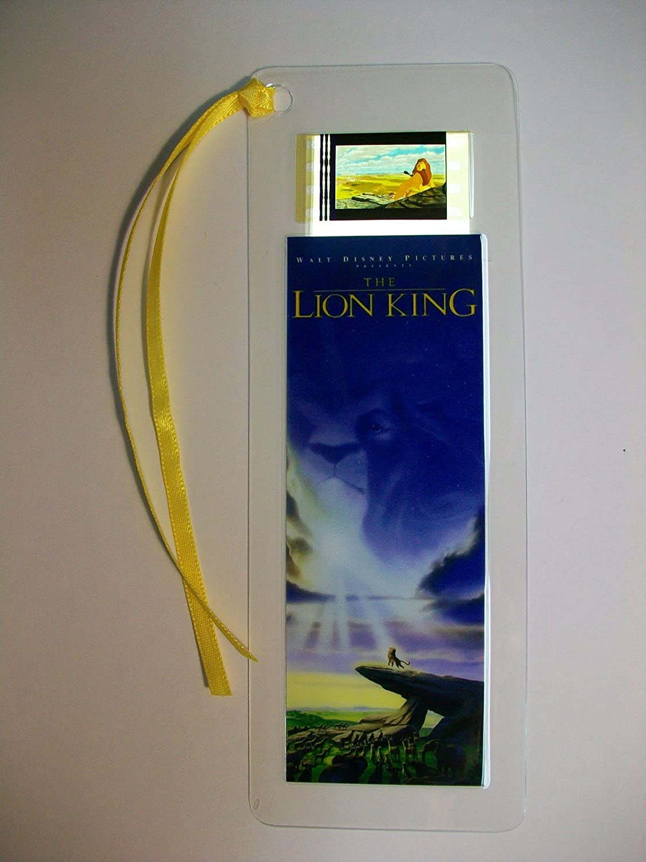 Marque-page avec une cellule du film Le Roi Lion
