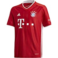 adidas FC Bayern Munchen Temporada 2020/21 FCB H JSY Y Camiseta Primera equipación Niños