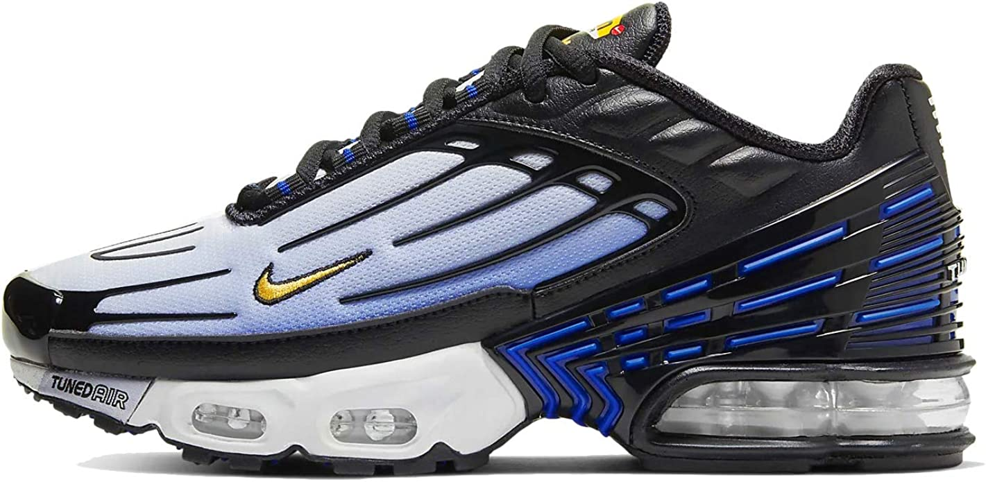 Amazon.com | Nike Air Max Plus Iii (gs) Big Kids Cd6871-001 ...
