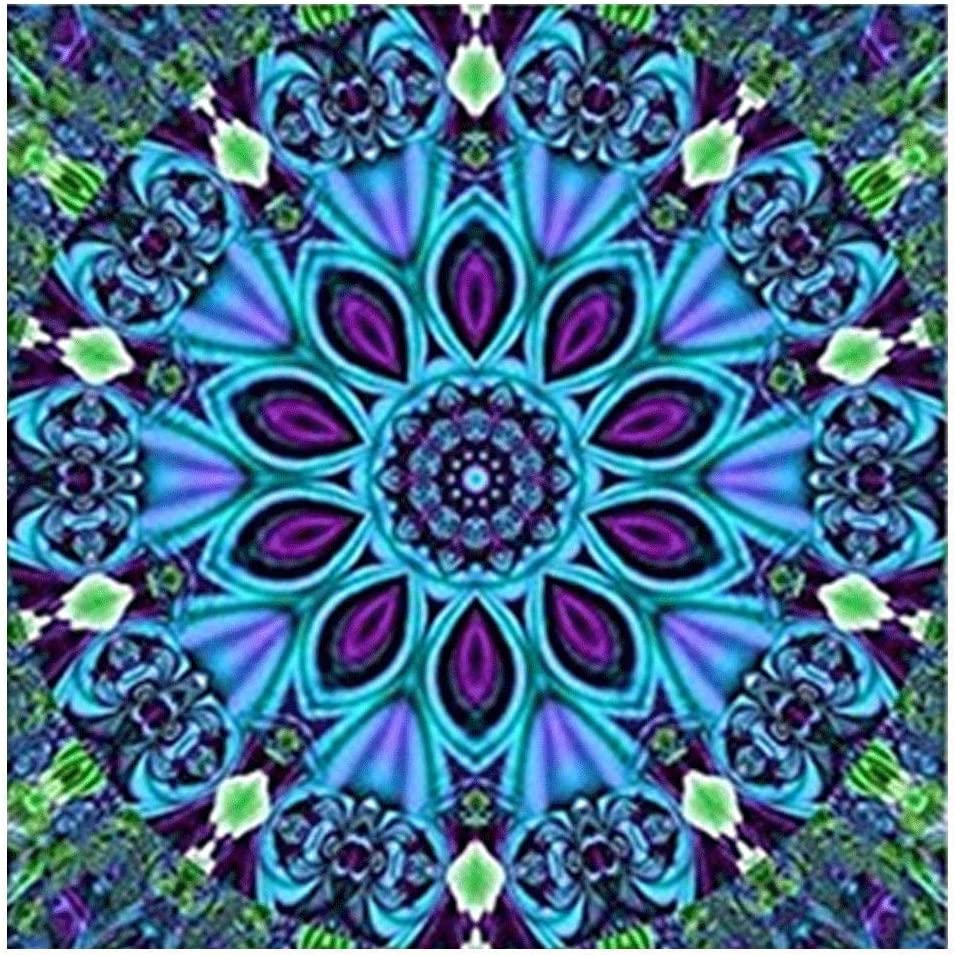 colorido elefante Impresionista punto de cruz Artesan/ía Inicio Decoraci/ón de la pared Skyllc/® Pintura diamante 5D DIY
