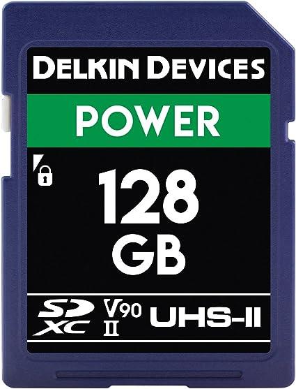 Delkin DDSDG2000128 Devices 128GB Power SDXC UHS-II (U3/V90) Memory Card