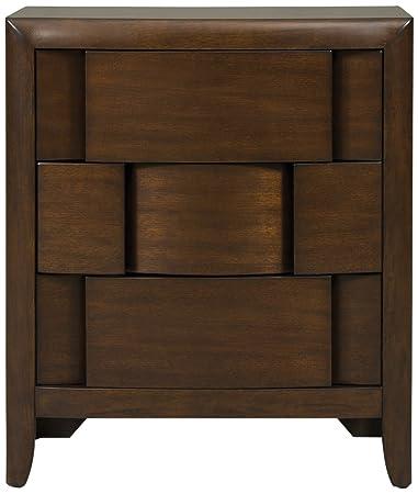 magnussen twilight y187601 wood 3drawer nightstand - Magnussen Furniture