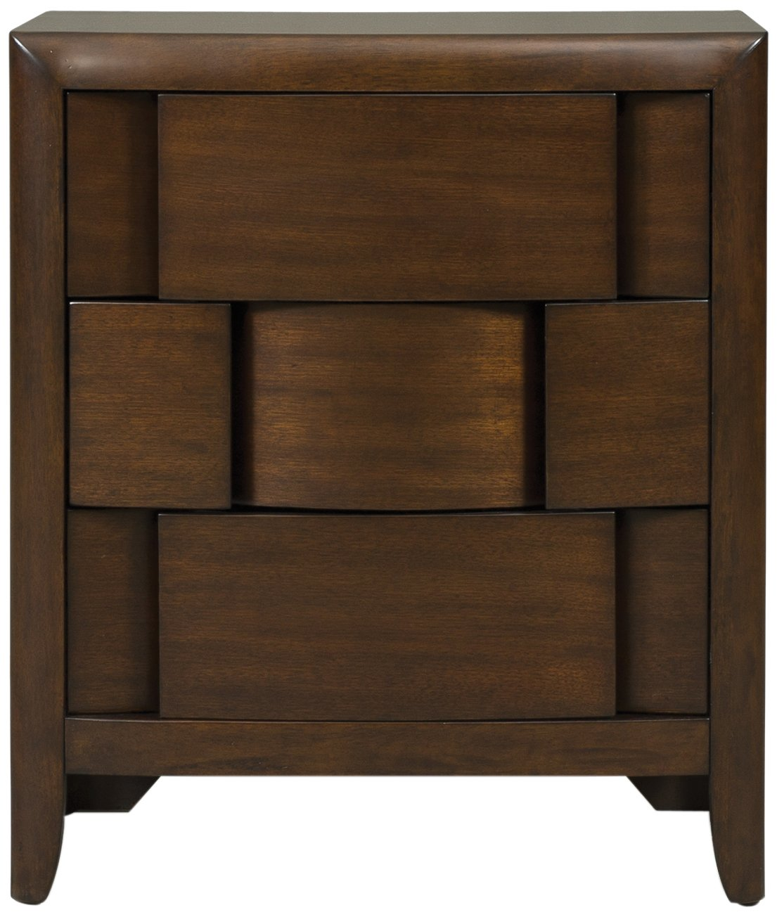 Magnussen Twilight Y1876-01 Wood 3-Drawer Nightstand by Magnussen Home