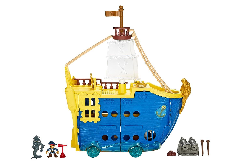 Jake y los piratas - Coloso de los Mares (Mattel DMW56): Amazon.es ...