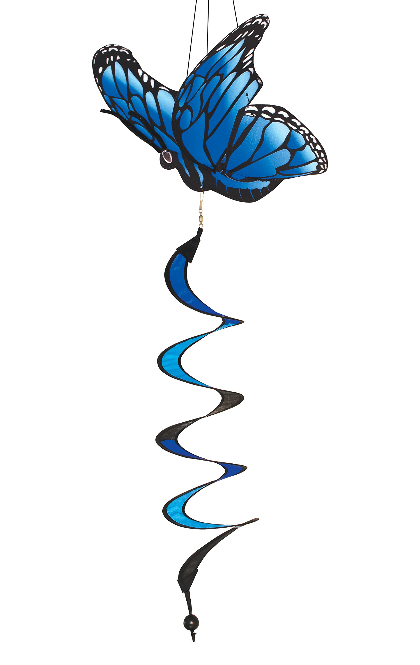 In the Breeze Blue Morpho Butterfly Theme Twister