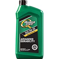 Quaker State Motor Oil Synthetic Blend 5W-30 (1-Quart, Case of 6)