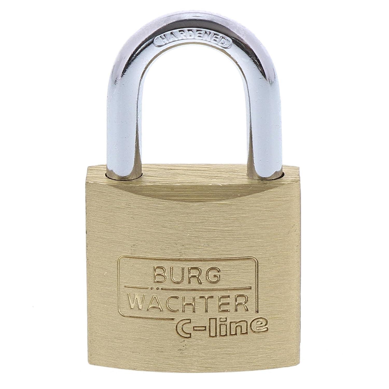 BURG-WÄ CHTER Vorhä ngeschloss, 2er-Set, 5 mm Bü gelstä rke, 4 Schlü ssel, Duo 222 30 SB Burg-Wächter KG