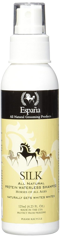 Amazon.com : Espana Silk ESP0220E Specially Formulated Silk Protein Waterless Shampoo for Horses, 33.82-Ounce : Pet Supplies