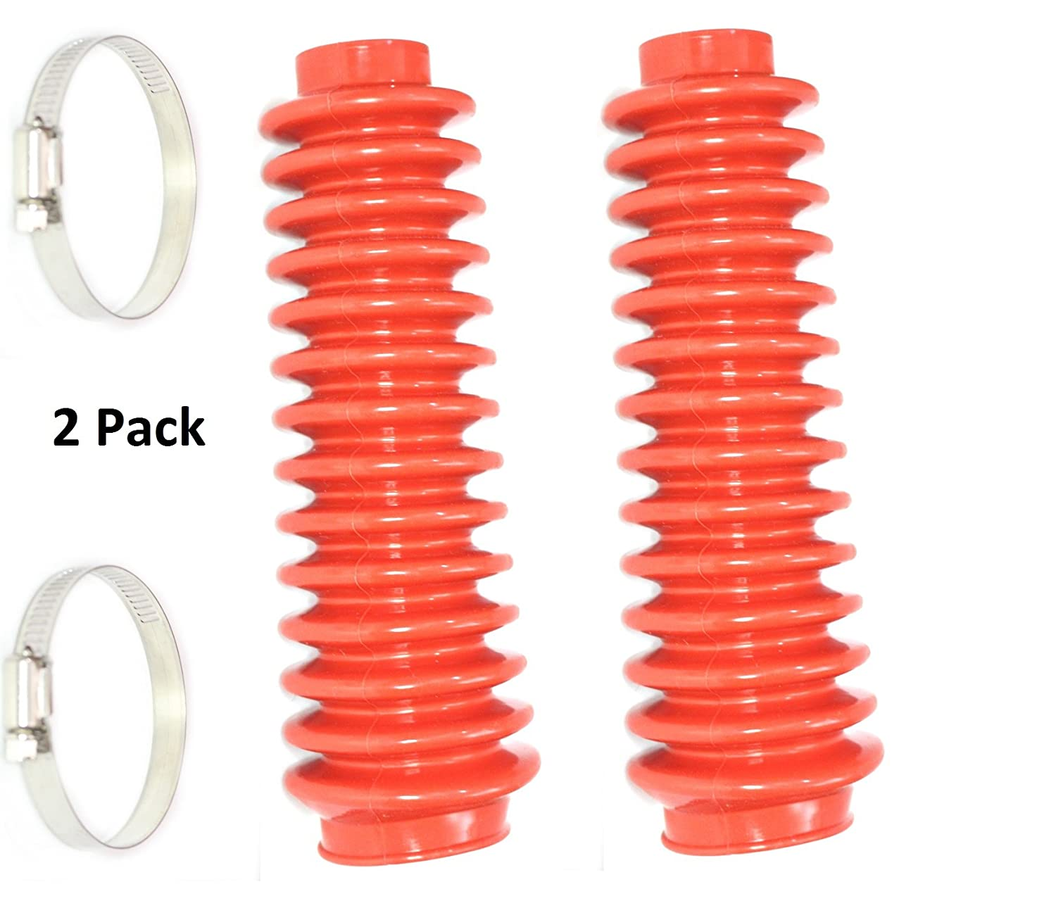 Shock Rough Boot Lifted 4x4 ORV Country Absorber Red