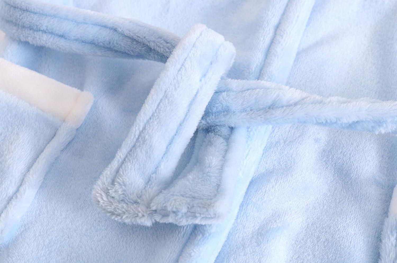 Ideal para regalos Beb/é Albornoz con Capucha Ni/ños Ni/ñas Pijama Ropa de Dormir 2-3 A/ños
