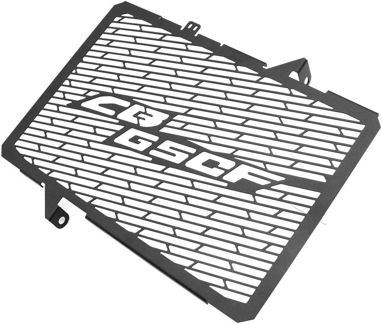 MeterMall Bon pour Couvercle de Grille de radiateur pour Moto en Acier Inoxydable pour Honda CB650F 14-19