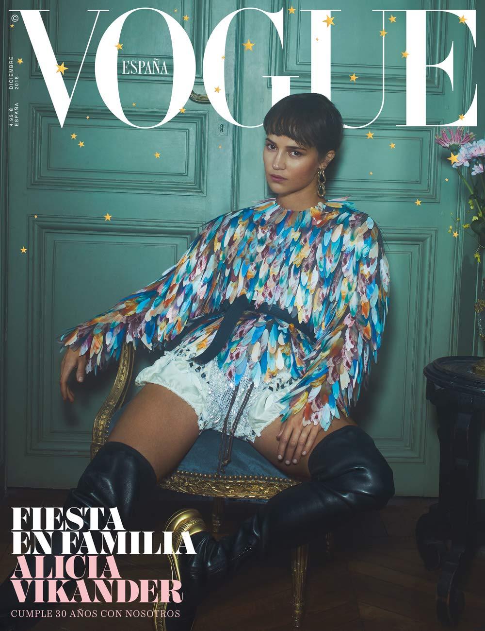 35c79e7b4b Vogue España: Diciembre 2018 - Número 369: Amazon.es: Ediciones Conde Nast:  Libros