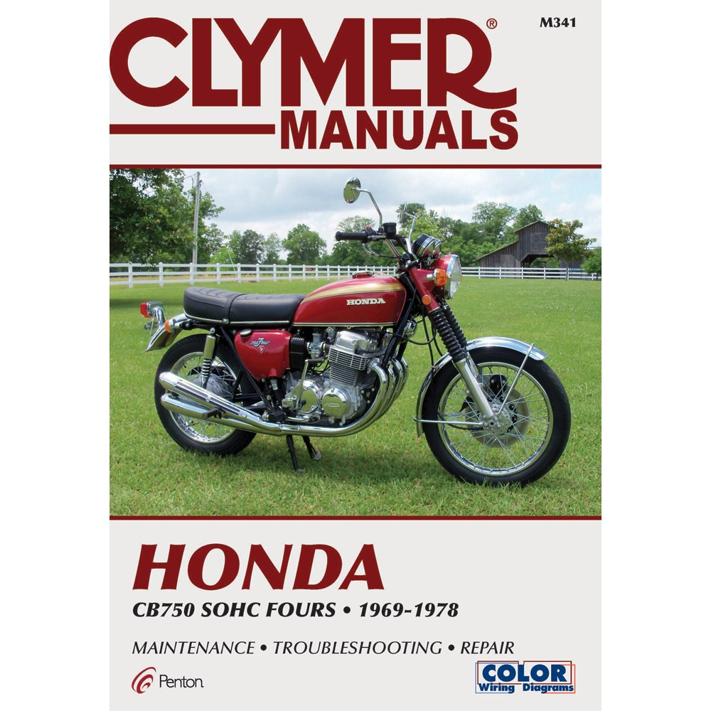 Clymer Honda In Line Fours Cb750 Sohc Manual M341 1982 Wiring Diagram Automotive