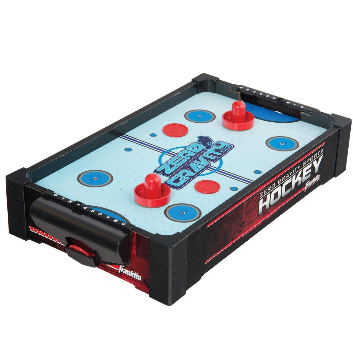 FRANKLIN Sports 20-Inch Zero Gravity Air Hockey Table PRE-FRK-55200E2