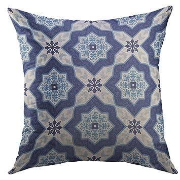 Amazon.com: Mugod Funda de almohada decorativa vintage ...