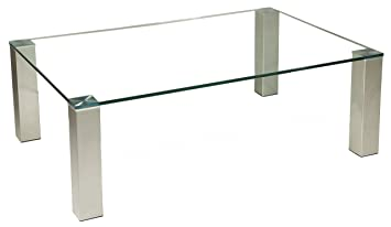 Brisbane305 Exklusiver Couchtisch Mit Einer 12mm Starken Glasplatte