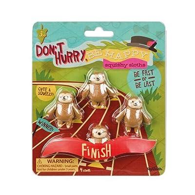Toysmith Squishy Sloths: Toys & Games