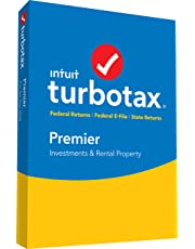TurboTax Premier + State 2018 Tax Software [PC/Mac Disc] [Amazon Exclusive]