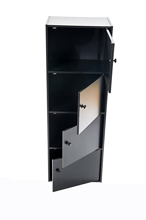 Amazon.com: Home Source Industries US 3122 4-Door Utility Cabinet ...