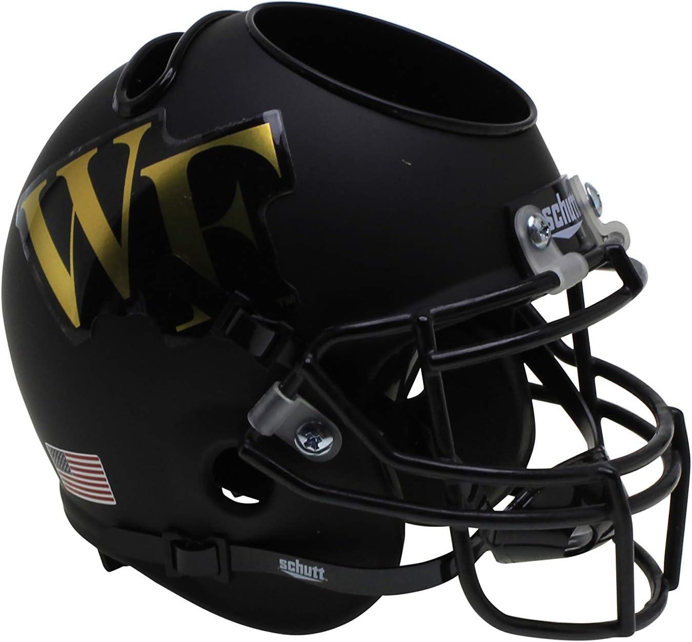 Schutt NCAA Wake Forest Demon Deacons Football Helmet Desk Caddy