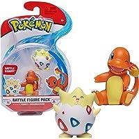 Bandai Pokémon-Pack met 2 figuren, 5 cm, Almach & Togepi-WT97884