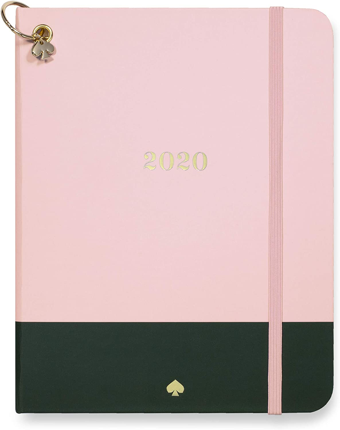 """Kate Spade New York 12 Month Medium Hardcover Annual Planner, January 2020 – December 2020 with Daily, Weekly, Monthly Spreads, 7.5"""" x 5"""", Color Block"""