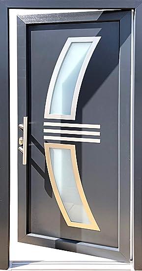 Extrem Nr.1 Hauseingangstür 100 x 210 cm, Öffnet nach innen links UO92
