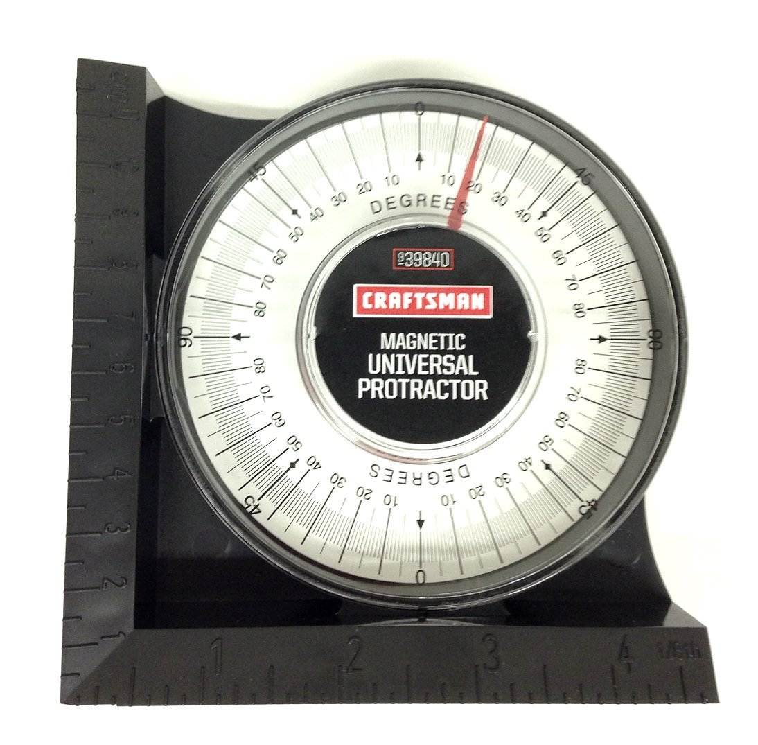 Craftsman 9-39840 Magnetic Universal Protractor