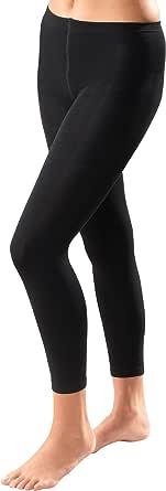 MUK LUKS Women's Fleece Lined 2 Pair Pack Leggings