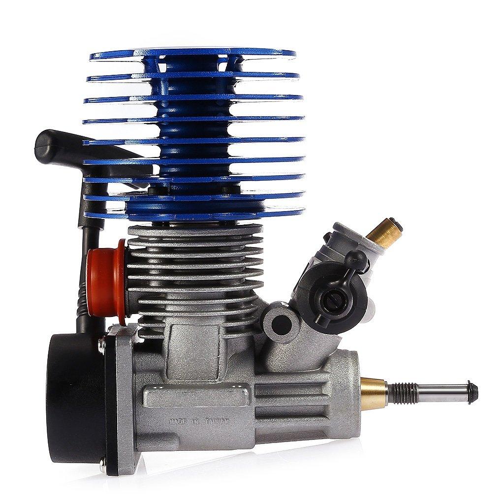 Barato Sharplace 28CXP 4.57cc Motor de Arranque Pull Starter Engine para 1: 8 1:10 1:12 RC Coches Camiones Barcos