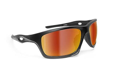6edf5b2d47 Bertoni Photochromic Sport Sunglasses for Cycling Running Ski Motorcycle  Mtb Fishing – mod. Omega Polarized