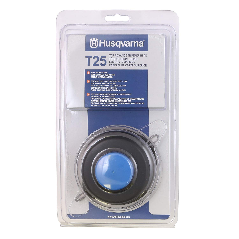Husqvarna 966674401 T25 Tap Trimmer Advance Head, Curved and Straight Shafts by Husqvarna