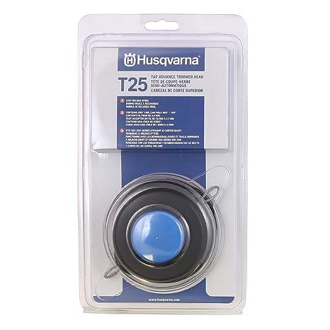 Husqvarna 966674401 T25 cortadora grifo Advance Head, curvado y ...