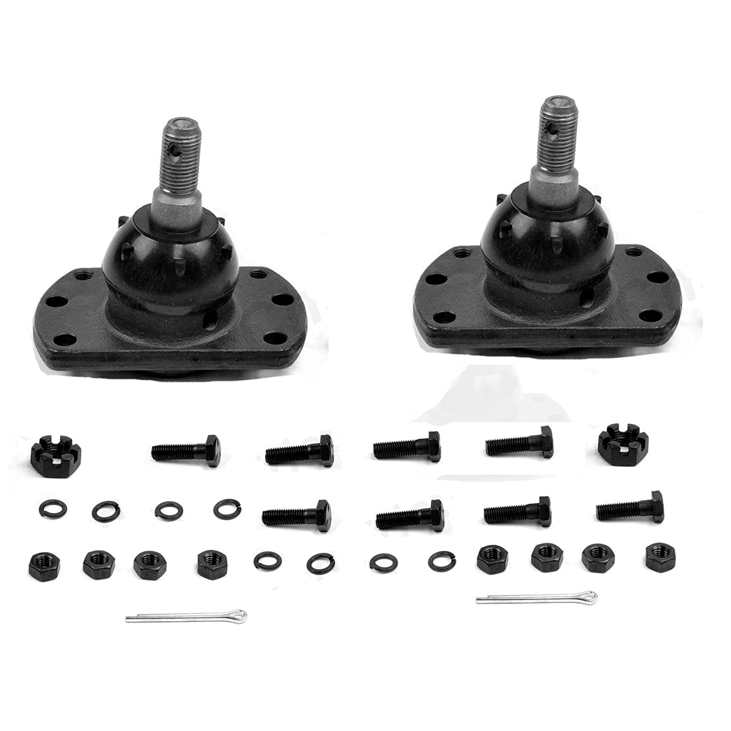 Detroit Axle - Both (2) Brand New Driver & Passenger Side Front Lower Ball Joint 10-Year Warranty