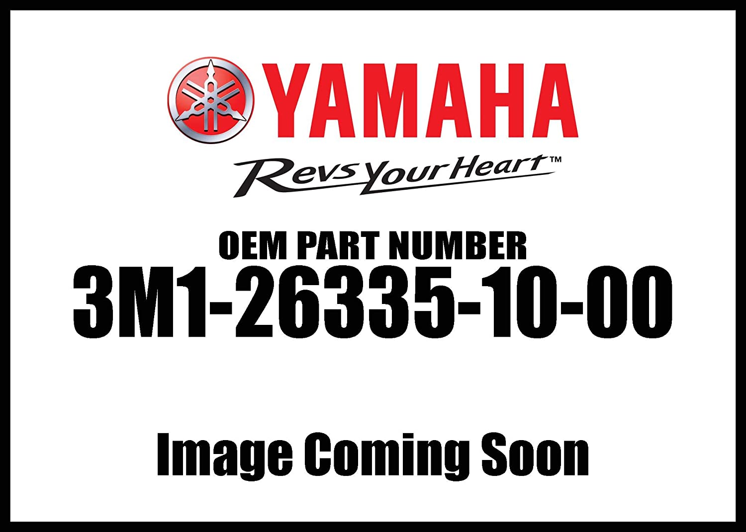 Yamaha 3M1263351000 Clutch Cable