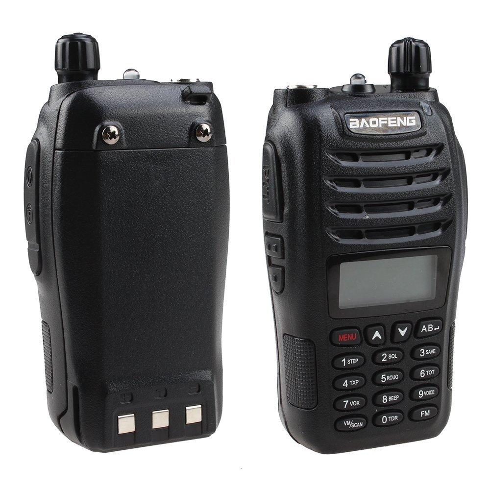 Baofeng dualband UV-B6 Two way radio 136-174/400-470mHZ UVB6 BF-B6(Pack of 4)