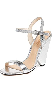 977cd419a00 Amazon.com  SCHUTZ Women s Jeannine Block Heel Sandals  Shoes