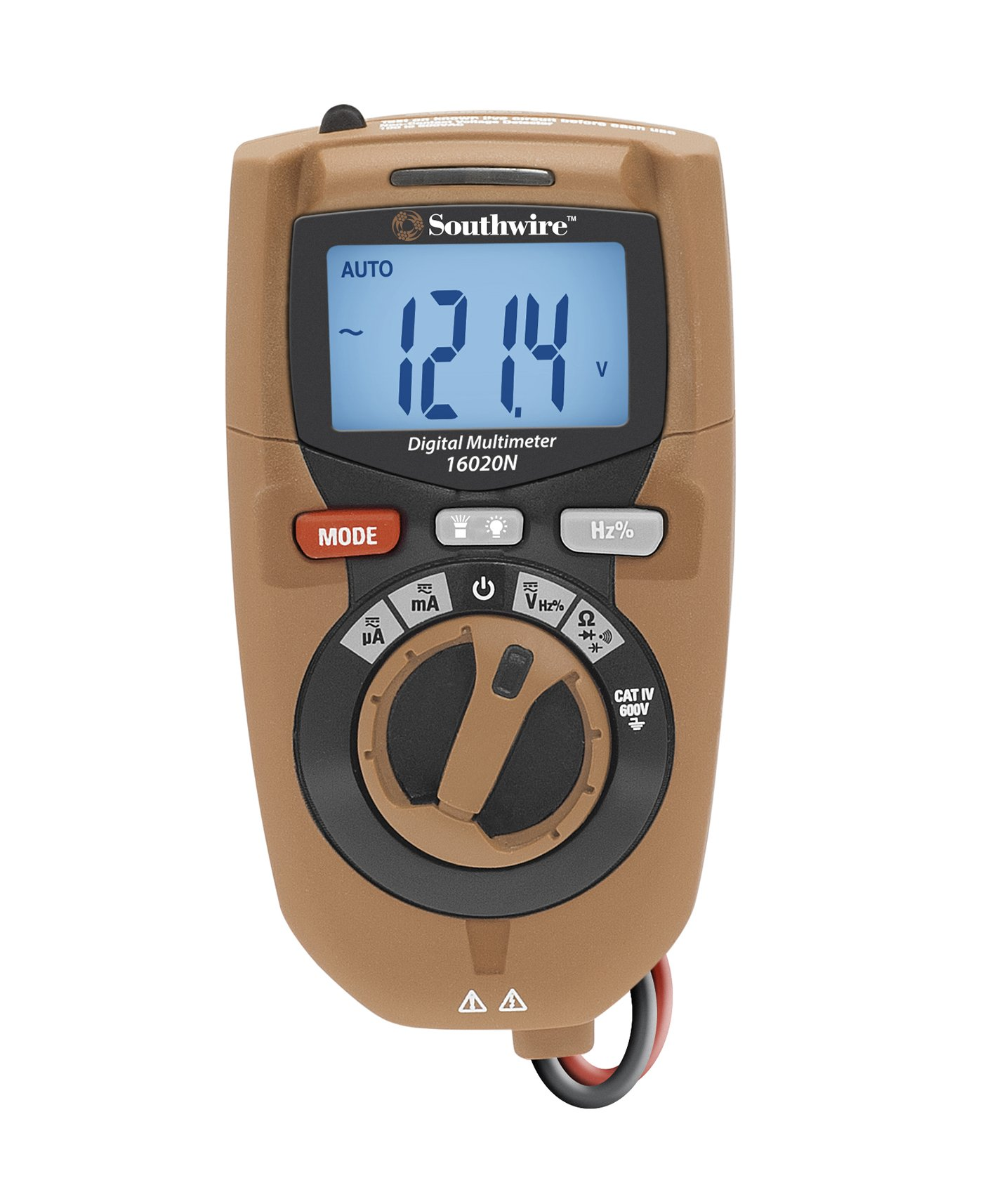 Southwire Tools & Equipment 16020N Compact 3-in-1 CAT IV Digital Multimeter