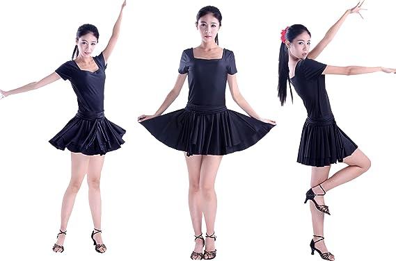 Amazon.com: sfd034bk Stardance Mujer Baile Latin Salsa Tango ...