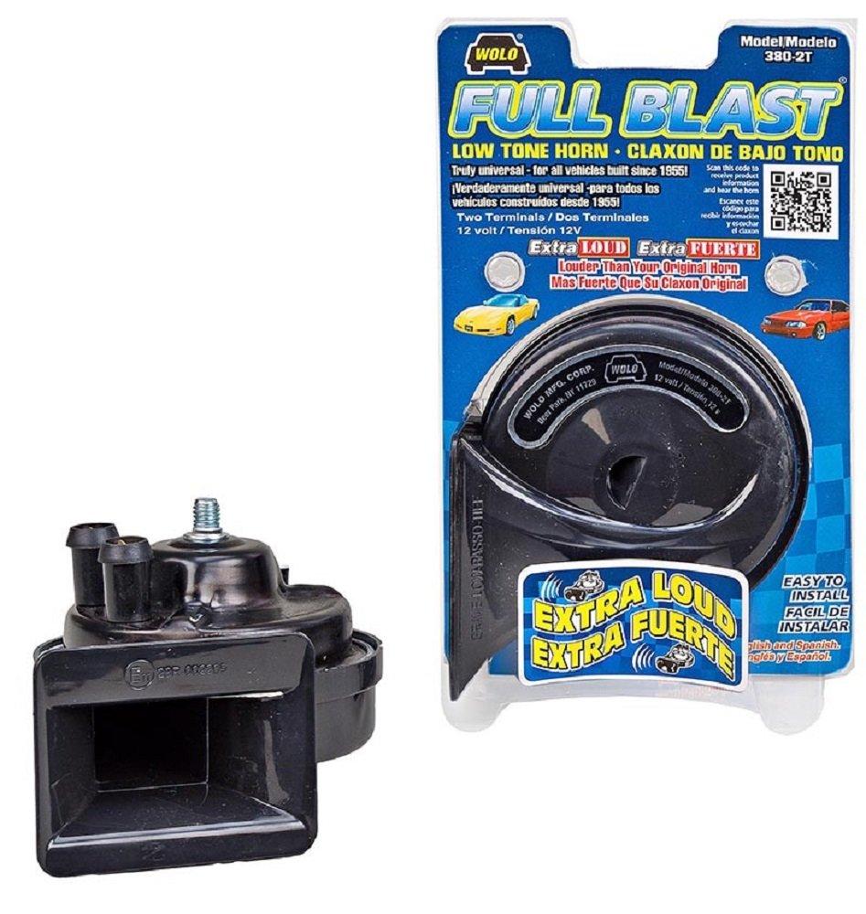 Wolo 380 2t Full Blast Horn 12 Volt Low Tone Automotive Wiring Diagram