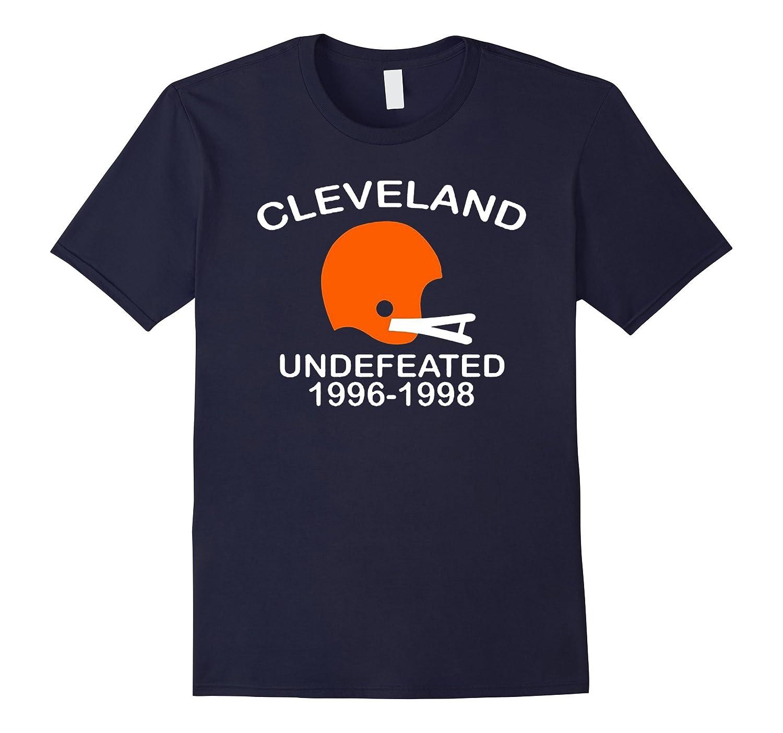 Cleveland Undefeated 1996 - 1998 T-shirt, Cleveland Shirt-BN