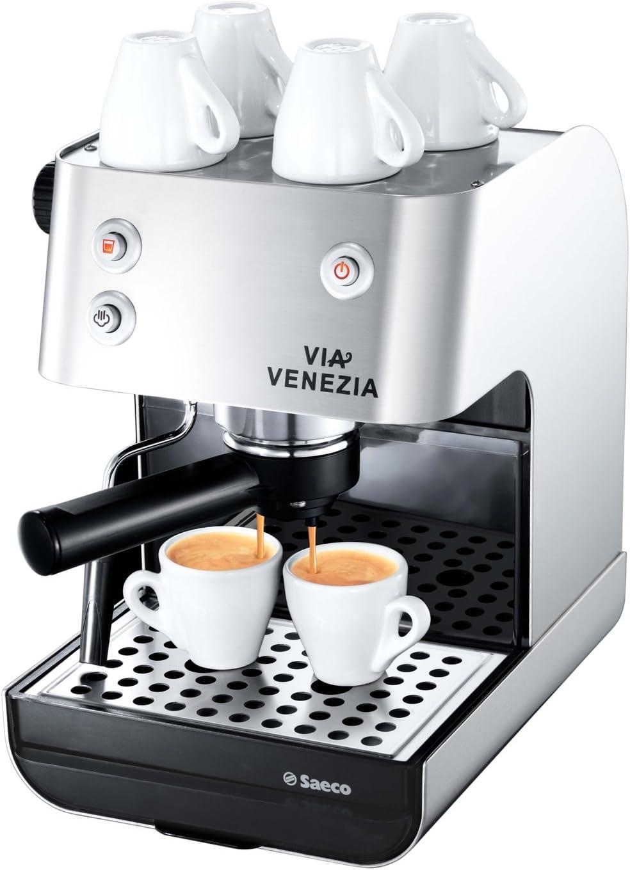 Saeco Via Venezia Espresso, Negro, Plata, 950 W, 230 V, 50 Hz, 230 ...