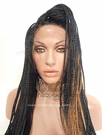 Amazon Fully Hand Braided Lace Front Wig Jamaica Braided Lace