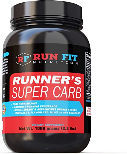 Runner s Super Carb – Pure Running Fuel – Maltodextrin Boosts Endurance Energy – Run Faster Longer – Made in The USA