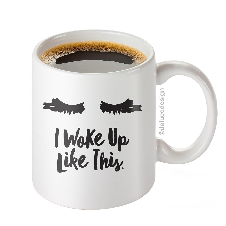 I Woke Up Like This Mug - Lash Extensions Mug - Lashes I Woke Up Like This Coffee Mug,