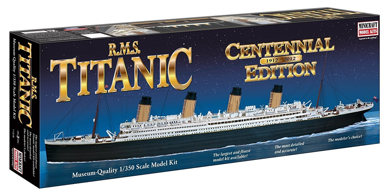 Minicraft 11318 RMS Titanic Centennial Editon Limited 1/350 Scale Model Kit