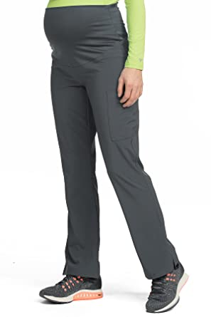 1a98b11cf55 Amazon.com: Med Couture Women's Knit Waist Maternity Scrub Pant: Clothing