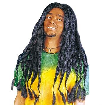 Peluca de rastas Rasta negro peluca rastas de carnaval