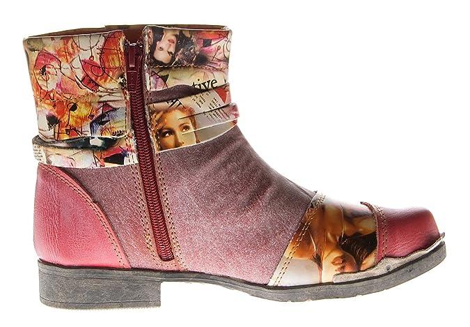 Damenschuhe Leder Damen Stiefeletten Comfort Boots Knöchel